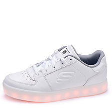 Skechers Kid's Energy Lights Elate Lace Up Trainer with Hidden Lights