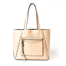Aimee Kestenberg Delara Large Leather Double Sided Tote Bag