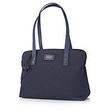 Radley London Deco Stripe Quilt Multi Compartment Shoulder Bag