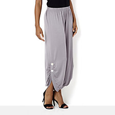Yong Kim Modal 2 Button Ankle Length Trousers
