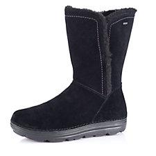 Clarks Nelia Net Gore-Tex Mid Calf Suede Boot