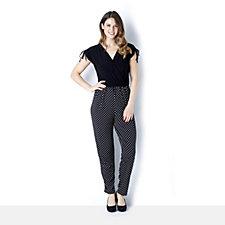 Grace Polka Dot Bottom Printed Jumpsuit