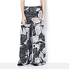 Coco Bianco Floral Printed Palazzo Trouser