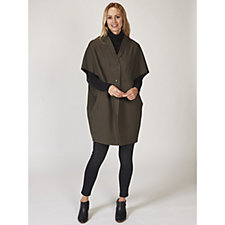 MarlaWynne Double Faced Knit Cape