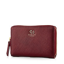 Radley London Ashby Road Medium Leather Zip Purse in Gift Box