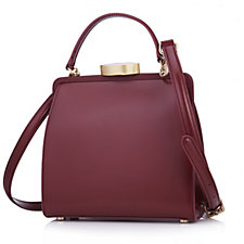 126070 - Lulu Guinness Polished Leather Small Eva Handbag