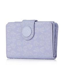 Kipling Nelis Embossed Tri Fold Wallet