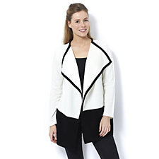155670 - Long Sleeve Cascade Colour Block Cardigan by Nina Leonard