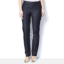 H by Halston Studio Stretch Regular Length Pull On Trousers
