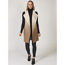 MarlaWynne Stipple Ombre Wool Mix Vest