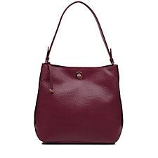 Radley London Carey Street Large Leather Bucket Hobo Bag
