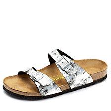 Birkenstock Sydney Stardust Print Double Strap Sandal