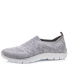 Skechers Empire Round Up Slip On Trainer with Air Cooled Memory Foam