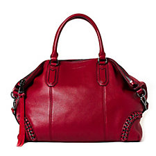Aimee Kestenberg Genny Leather Convertible Satchel Bag