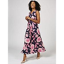 Together Tropical Print Maxi Dress