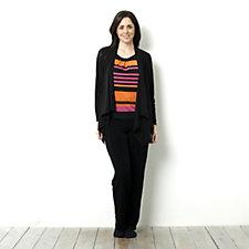 Antthony Designs Stripe Tank & Cardigan Set