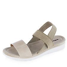 158072 - Adesso Hallie Patent Sandal with Elastic Straps