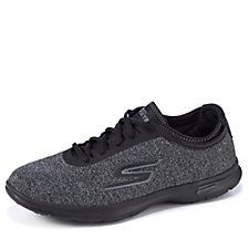 Skechers GO STEP Vital Heathered Lace Up Trainer with Goga Pillars