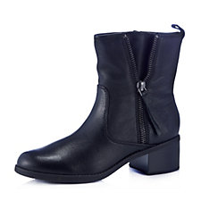 Clarks Nevella Devon Leather Ankle Boots