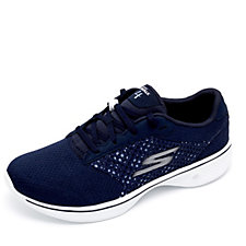 Skechers GOwalk 4 Exceed 3D Layer Lace Up Trainer