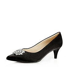 Peter Kaiser Court Shoe with Swarovski Crystal Detail