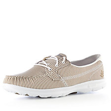 Skechers GO STEP Sandy Seersucker Boat Shoe