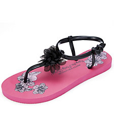 Pretty You London Tara Gladiator Flip Flop