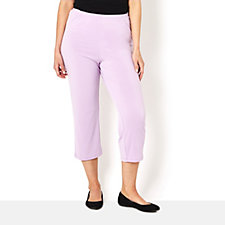 Fluid Jersey Crop Trouser by Michele Hope
