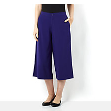 156373 - Chelsea Muse by Christopher Fink Stretch Gaucho Trousers