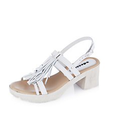 158073 - Adesso Gwen Block Heel Tassel Sandal