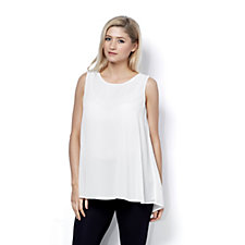 Jeanne Beker Double Layer Chiffon Top