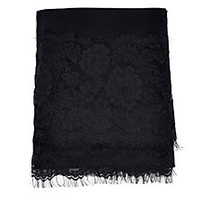 Frank Usher Lace Edge Cover Up Wrap