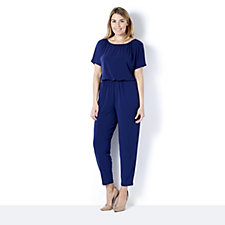 164073 - Kim & Co Brazil Knit Dolman Sleeve Jumpsuit Regular