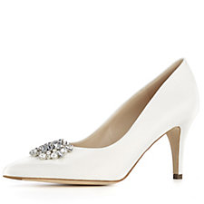 Peter Kaiser Swarovski Trim Court Shoe