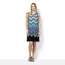 Ronni Nicole Printed A Line Sleeveless Dress