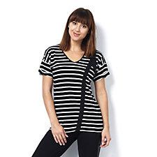 Label Lab Tape Striped T-Shirt