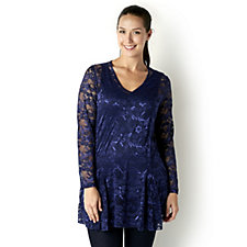 Viola Lace Tunic & Jersey Cami by Michele Hope