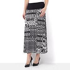 Casual & Co Ikat Print Jersey Skirt