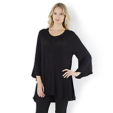 Join Clothes Tulli V Neck Drape Effect Jumper