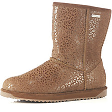 Emu Paterson Leopard Waterproof Mid Calf Boots