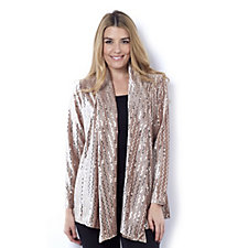 Moon Sparkle Velvet Jacket by Michele Hope
