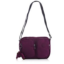 Kipling Patti Pocket Shoulder Bag with Adjustable Strap and Outer Pockets