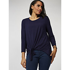 Together Knot Front Top