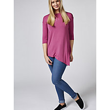 Cuddl Duds Softwear Tie Side Top