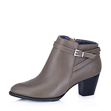 Vionic Orthotic Upton Leather Ankle Boot with FMT Technology