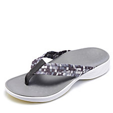 Vionic Orthotic Hazel Woven Stretch Flip Flop with FMT Technology