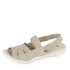 158076 - Adesso Reeva Stretch Weave Sandal