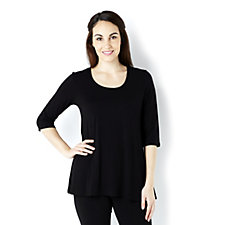 158376 - Join Clothes Jersey 3/4 Sleeve Scoop Neck