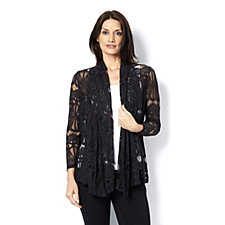 Daisy Chain Lace Cardigan by Michele Hope