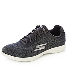 Skechers GO STEP Lite Radiancy Jacquard Engineered Mesh Lace Up Trainer